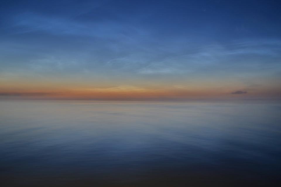 Abendlicher Horizont