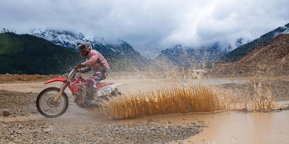 Motocross Fahrer