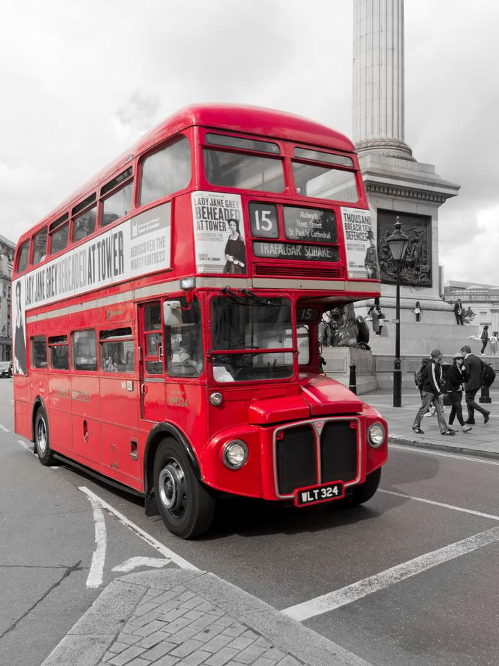 Retro-Bus in London