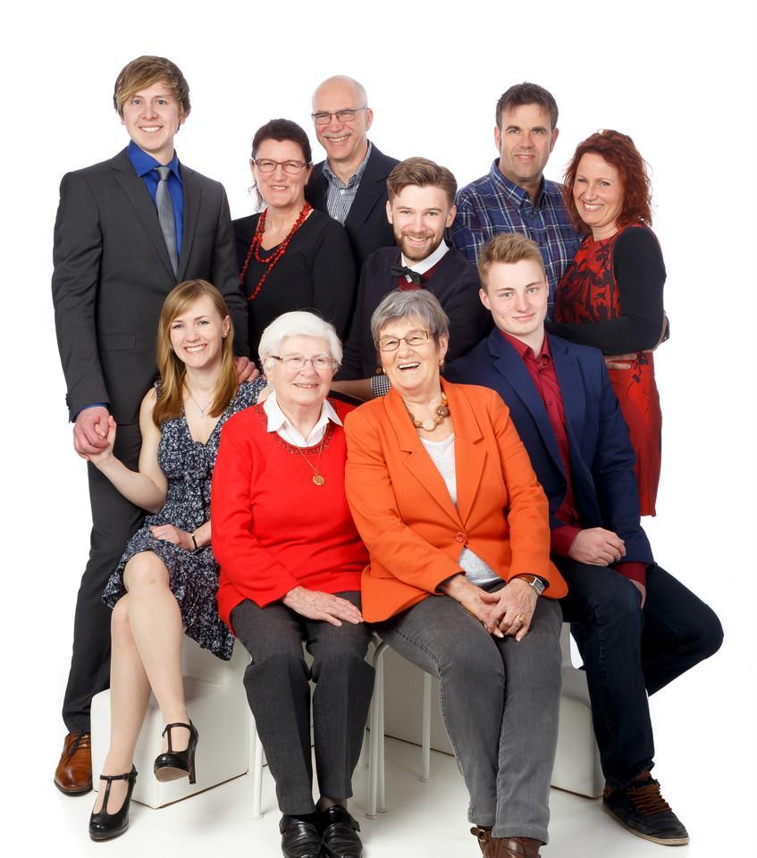 6-köpfige Familie
