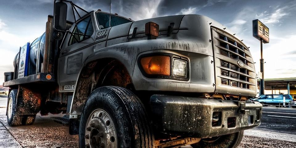 Foto von einem Truck