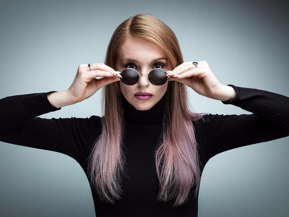 Mode, Sonnenbrille, Frau