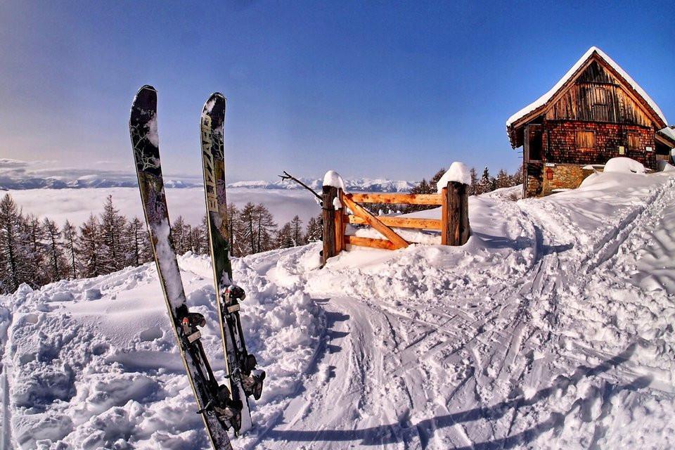 winter, Ski, Berge