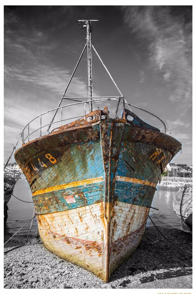 Schiffswrack, Schiff, Küste