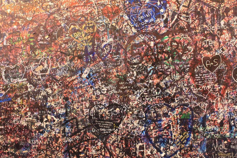 Italien, Verona, Romeo und Julia, Graffiti