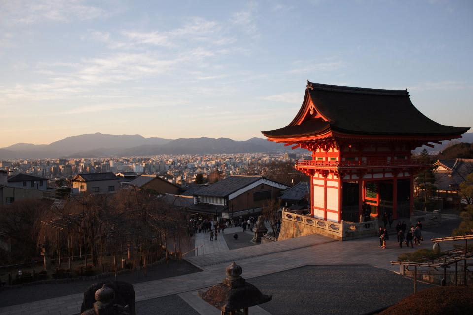 orientalische, kyoto, Japan, Pagode