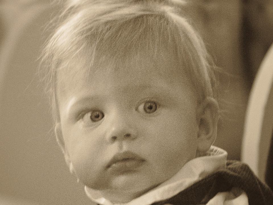 Kleinkind, Baby, Neugierde