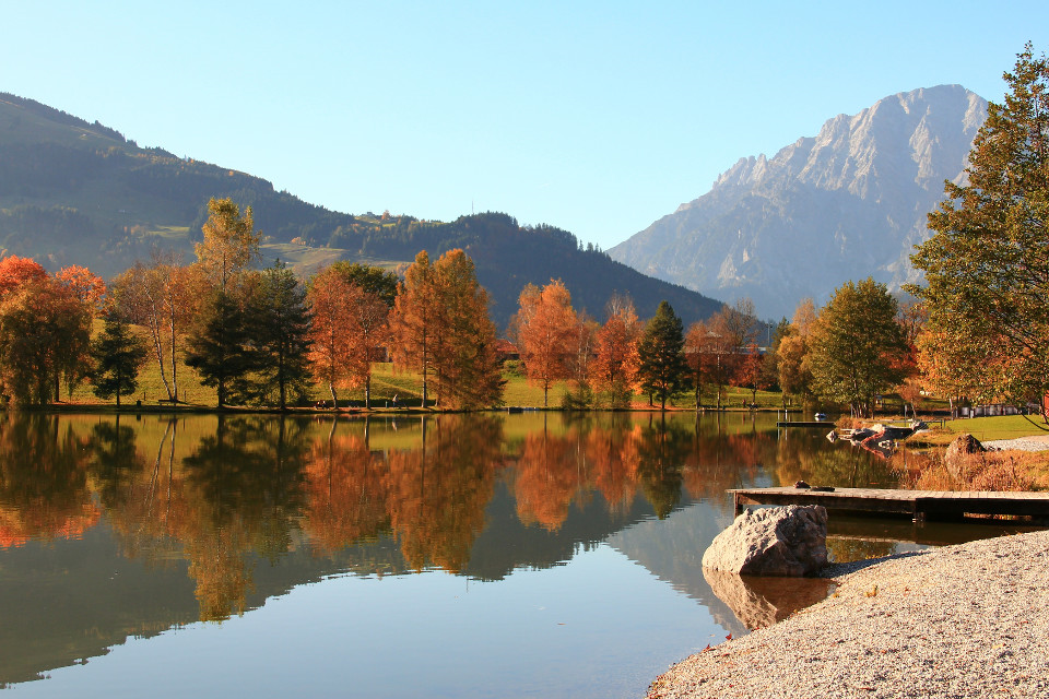Herbst, Ritzensee, See