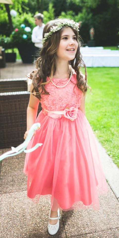 Kinder, Mädchen, schönes Kleid, Prinzessin