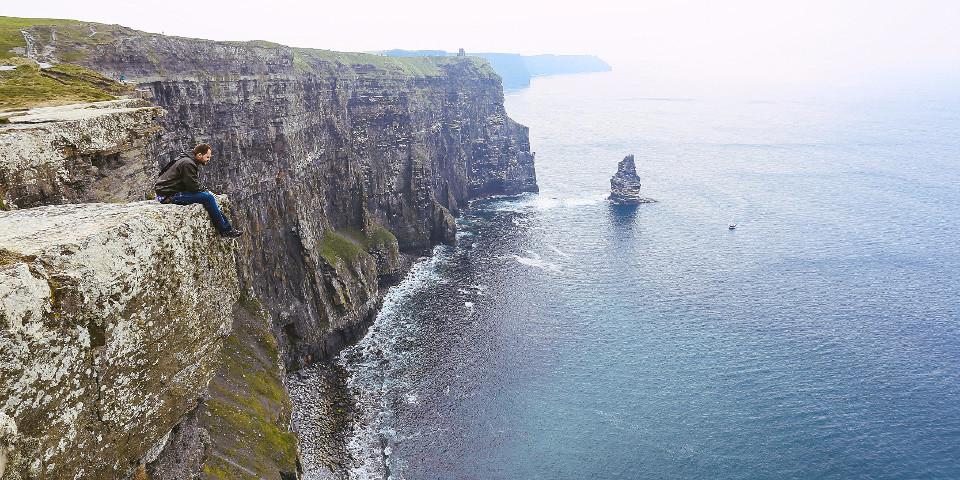 Natur, felsen, Ufer, Küste, Irland