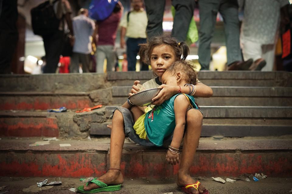 kolkata, Indien, Armut, Wirklichkeit