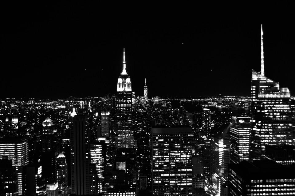Manhattan, NYC, New York, skyline, Wolkenkratzer