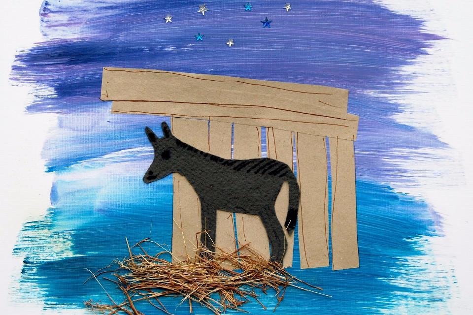 Pferd, Weihnachten, Illustration, Kinder buchen