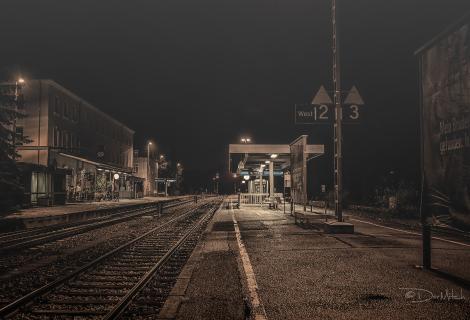 Vom Bahnhof zum Bahnhof