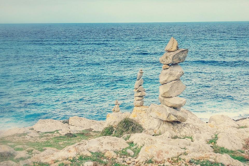 Steine, Meer, Ozean, Mallorca
