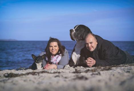 Hunde und ihre Besitzer