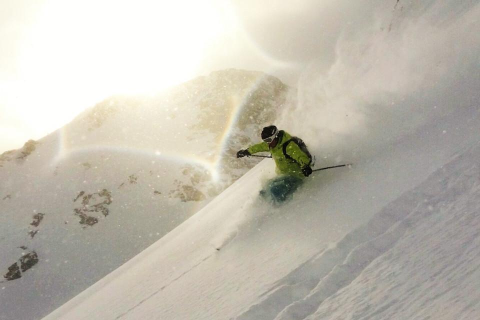 Extremsportarten, Skifahren, Berge