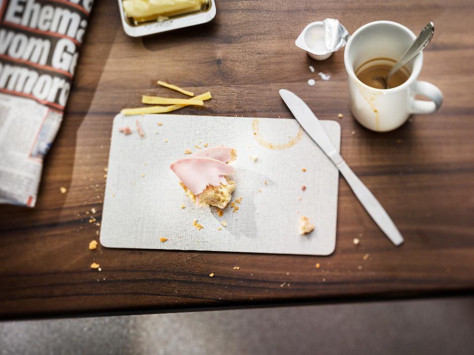 europäisch, Frühstück, Tabelle