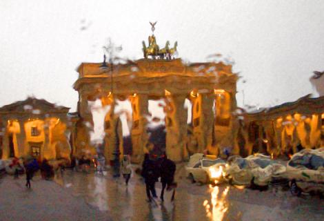 Berlin – ein regnerischer Eindruck