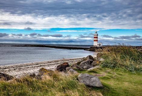 Eine andere Ecke von Island
