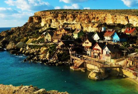 Ein maltesischs Ufer