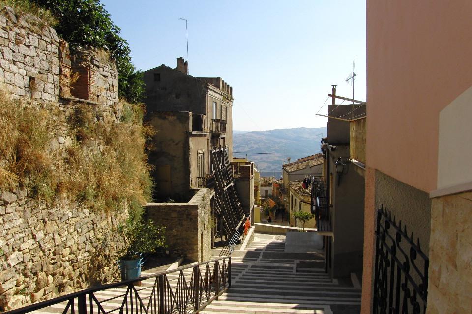 Stadt, Dorf, Italien, romantisch, südlich