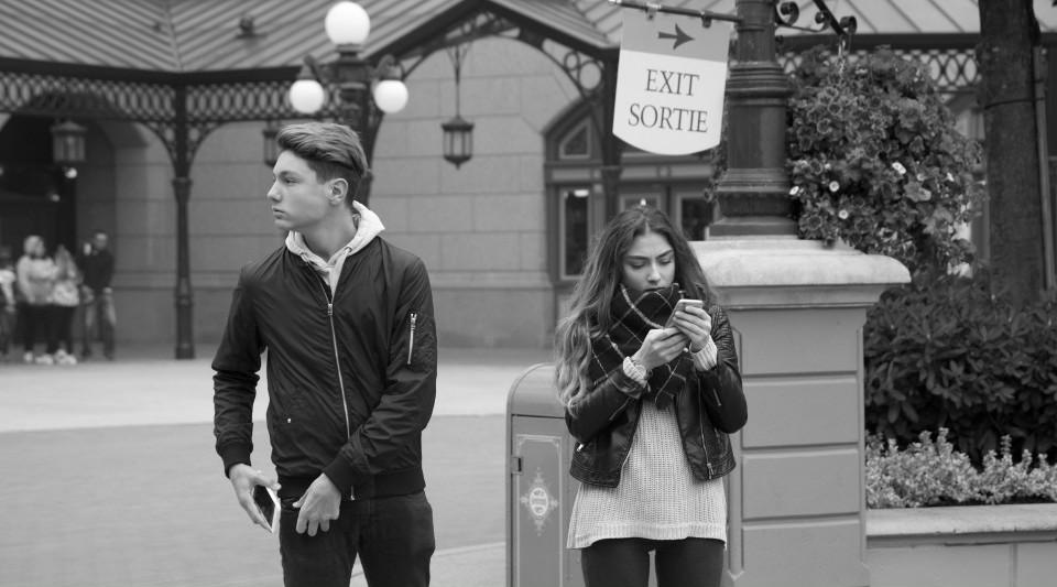 Disneyland, Paris, Jugendliche, Teen, mürrisch