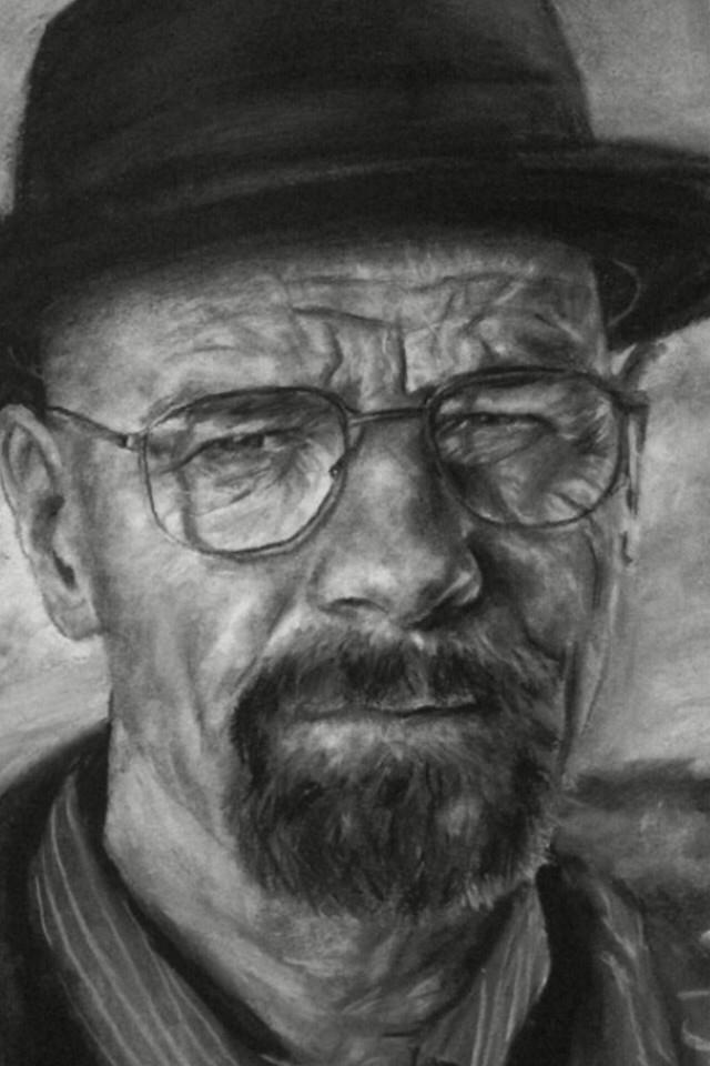 Walter White, skizzieren, Zeichnung, realistisch, Breaking Bad
