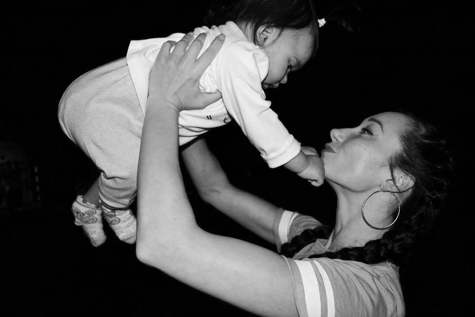 Mutter, Kind, monochrom, besondere, Beziehungen