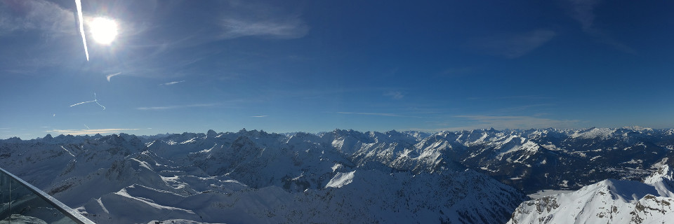 Berge, terrain, Alpen, Panorama