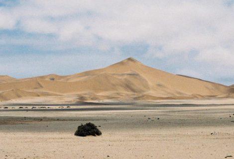 Eine Wüste Malerei