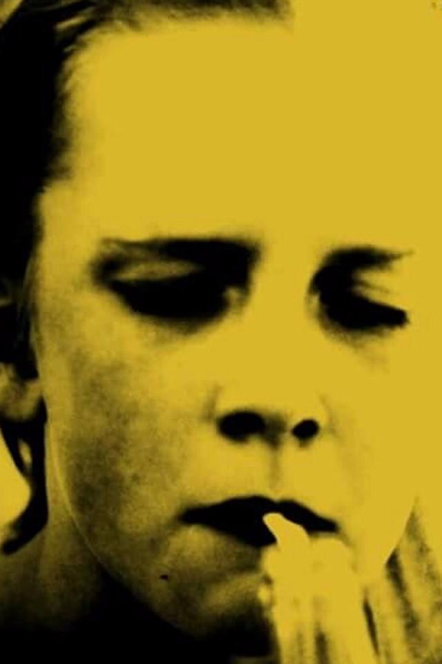 Porträt, Foto, Frau, Zigarette, Kunstfotografie