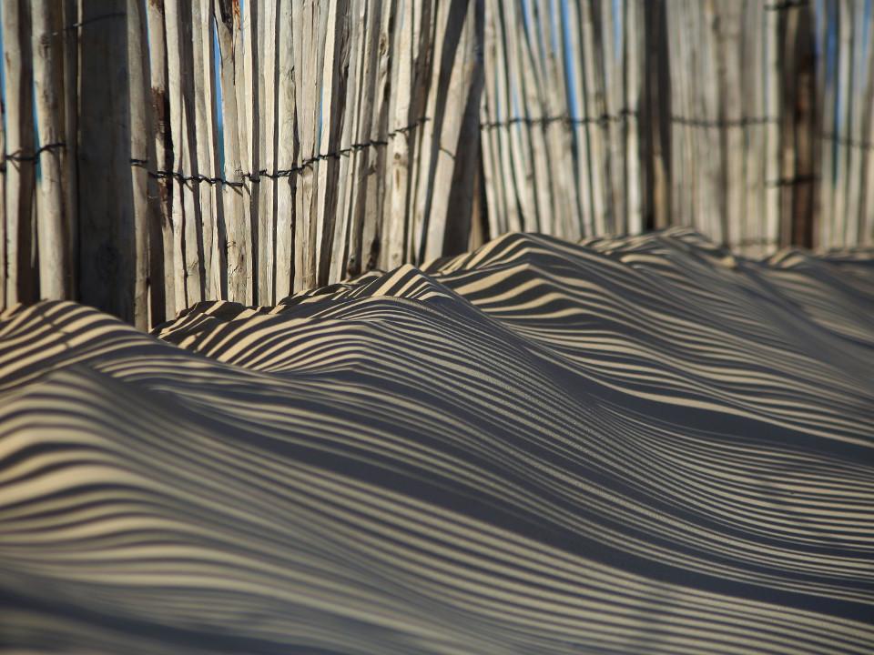 Natur, Strand, Beleuchtung, Schatten, Sand, Zaun